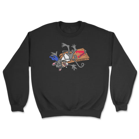 No Snitchin' Crewneck Black