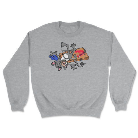 No Snitchin' Crewneck Grey