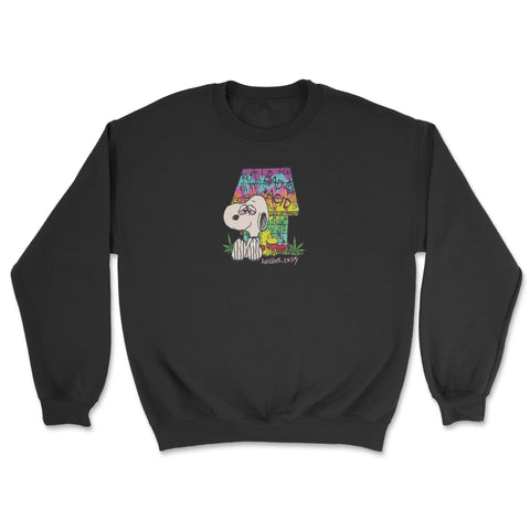 Acid Bath Crewneck Black
