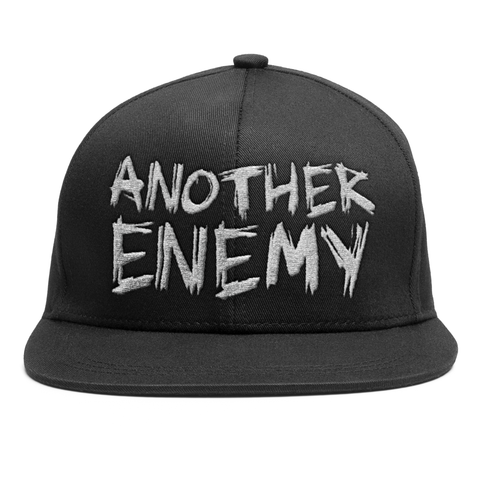 Another Enemy  Logo Snapback Hat Black