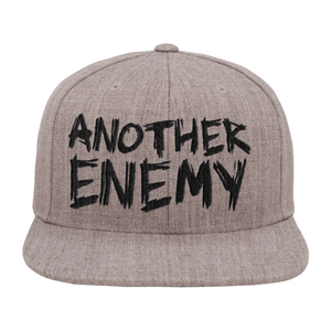 Another Enemy Logo Snapback Hat Grey