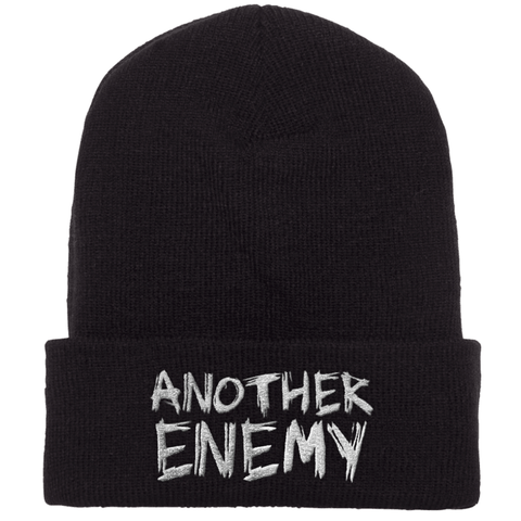 Another Enemy Logo Beanie Black