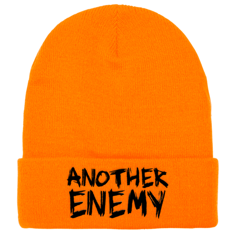 Another Enemy Logo Beanie Orange