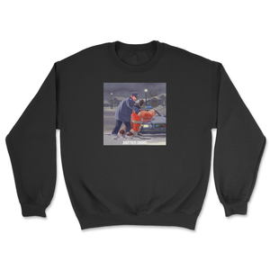 Bad Santa Crewneck Black