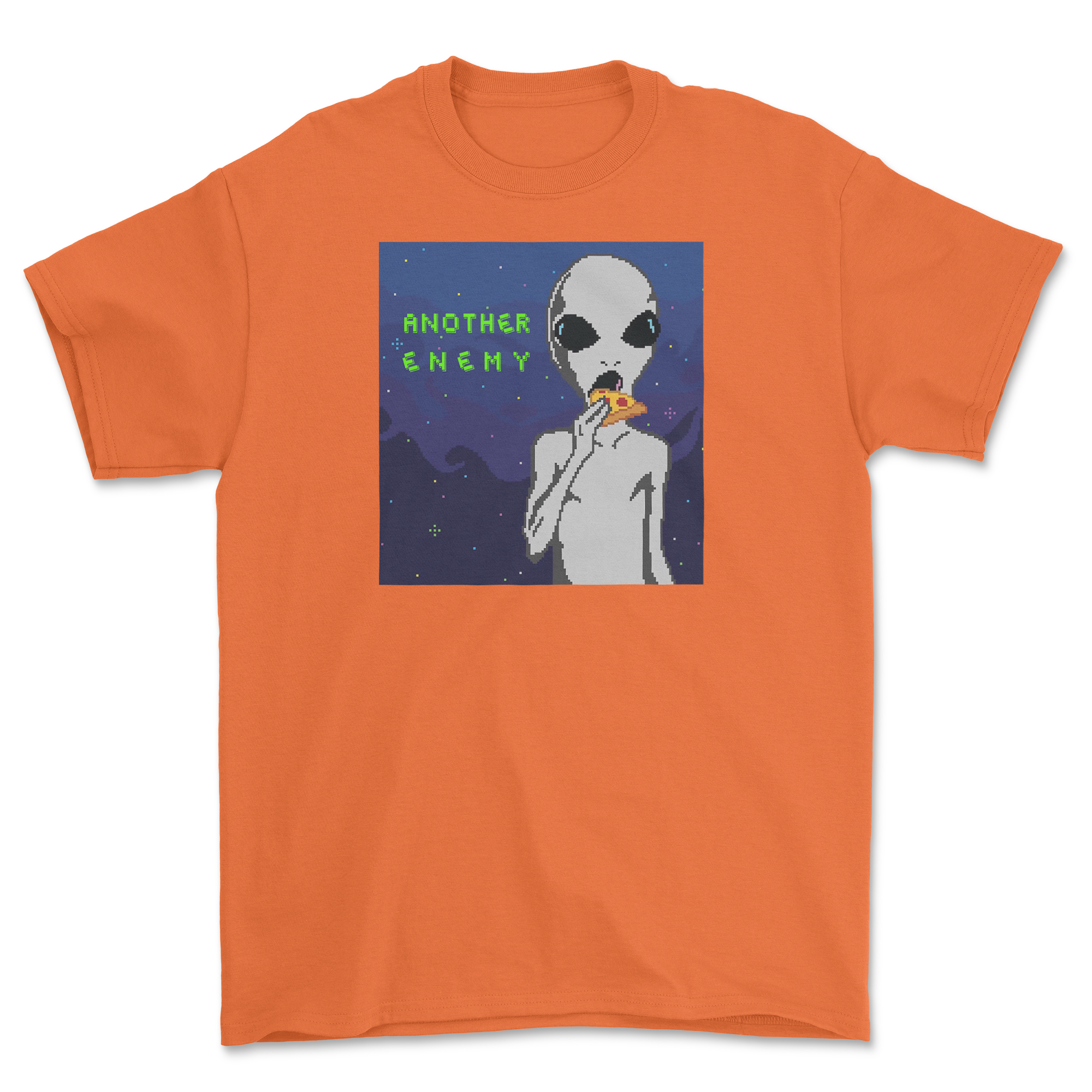 Cheesy Encounters T-Shirt Orange