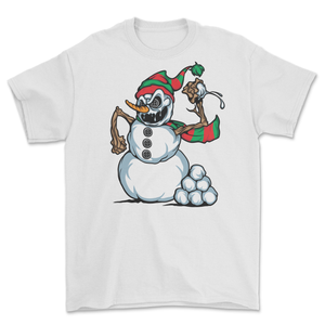 Snowball Fight T-Shirt White