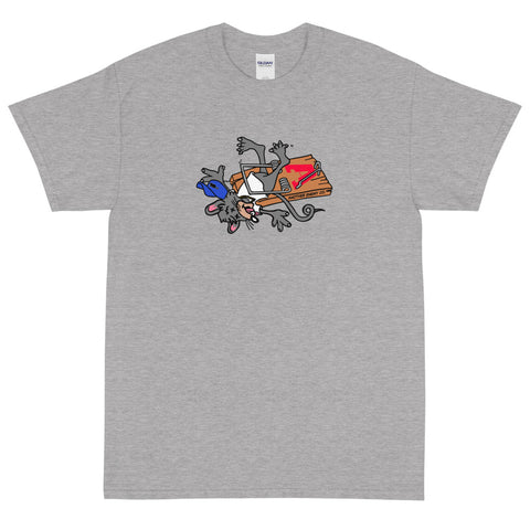 No Snitching T-Shirt Grey
