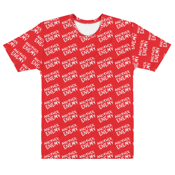 All Over Logo T-Shirt Red