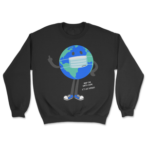 Keep It Clean Crewneck Black
