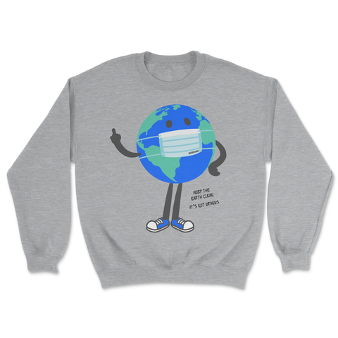 Keep It Clean Crewneck Grey