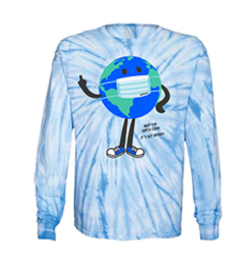 Keep It Clean Long Sleeve T-Shirt Columbia Tie Dye