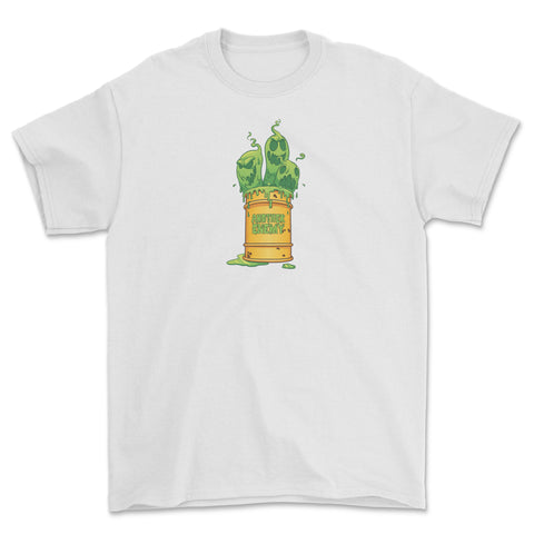 Toxic Waste T-Shirt White