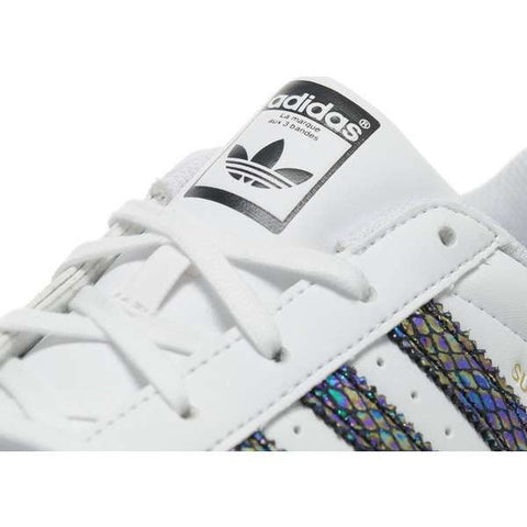 Adidas Originals Superstar Metallic Snake Junior's/Women's Limited Edition .
