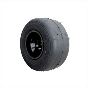 "10x4.50-5"" Super slick front Alloy wheel (rim and tyre) Pair (x2) - Helmetkarts"