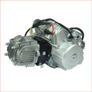 125cc Engine - Automatic w/ Reverse Horizontal engine