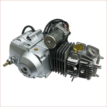 125cc Engine - Semi Automatic w/ Reverse Horizontal engine