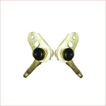 15mm Stub disc axle (pair) x2 - Helmetkarts