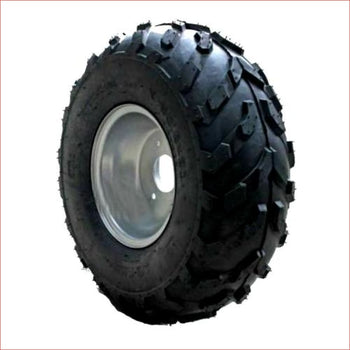 "16x8-7"" Off road wheel (rim and tyre) Pair (x2) - Helmetkarts"