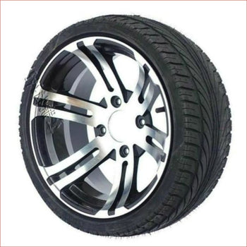 "185x30-14"" Front BIG BALLER wheel (rim and tyre) Pair (x2) - Helmetkarts"