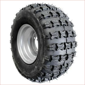 "18x9.5-8"" Off road wheel (rim and tyre) Pair (x2) - Helmetkarts"