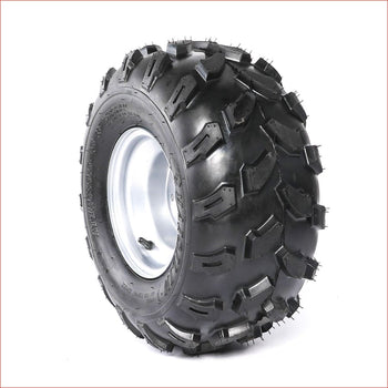 "18x9.5-8"" Off road road wheel (rim and tyre) Pair (x2) - Helmetkarts"