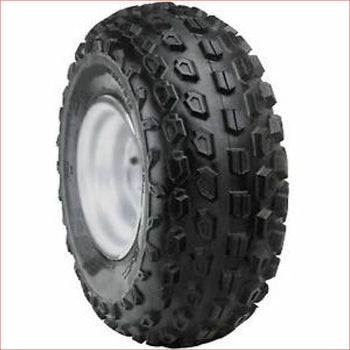 "19x7-8"" Knobby wheel (rim and tyre) Pair (x2) - Helmetkarts"