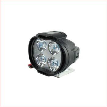 "2"" LED Spot light 15 watts - Black - Helmetkarts"