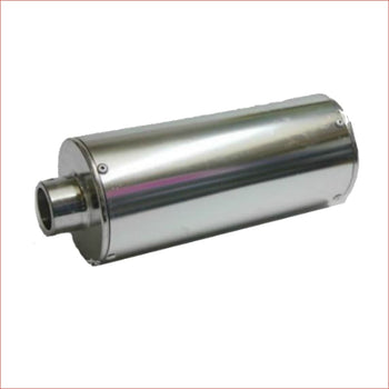 28mm Chrome alloy exhaust muffler - Helmetkarts