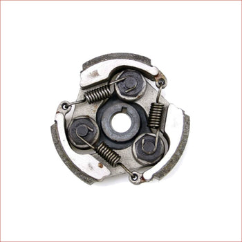 3 Shoe clutch plate w/ keyway - Helmetkarts
