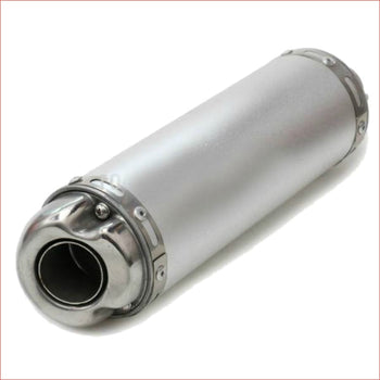 32mm Chrome alloy exhaust muffler - Helmetkarts