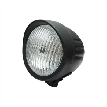 "4.5"" Matte black Head light - 55 watts - Helmetkarts"
