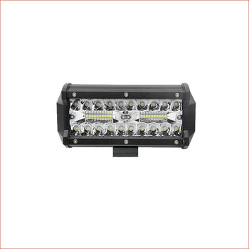 "7"" LED light bar 120 watts - Helmetkarts"