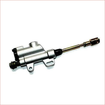 8mm (Silver/Long) Foot brake hydraulic master cylinder - Helmetkarts