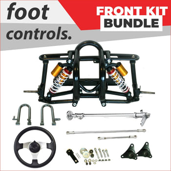 Advanced front chassis - Bundle pack #2 - Helmetkarts