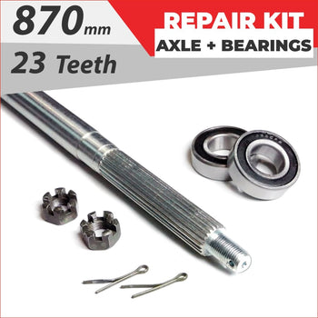 Axle repair Bundle pack #1 - Helmetkarts
