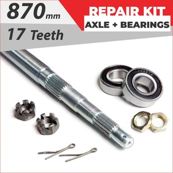Axle repair Bundle pack #2 - Helmetkarts