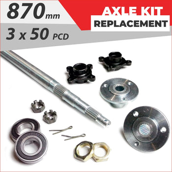 Axle replacement Bundle pack #1 - Helmetkarts
