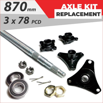 Axle replacement Bundle pack #2 - Helmetkarts