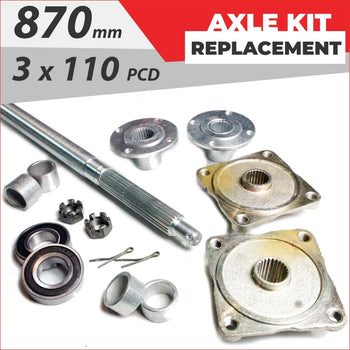 Axle replacement Bundle pack #3 - Helmetkarts