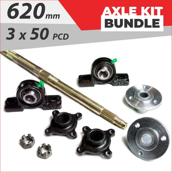 Axle running gear Bundle pack #10 - Helmetkarts