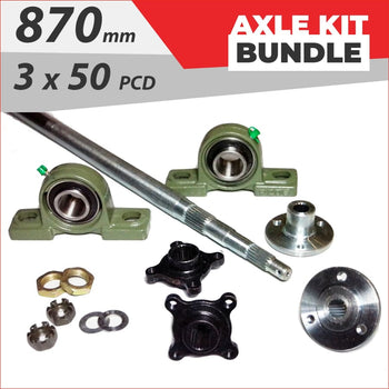 Axle running gear Bundle pack #2 - Helmetkarts