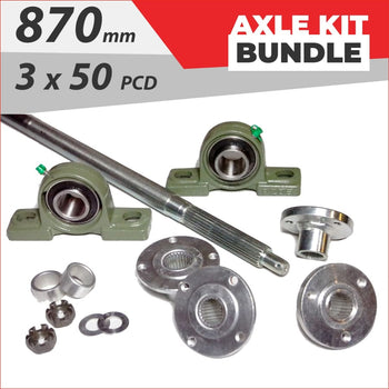 Axle running gear Bundle pack #3 - Helmetkarts