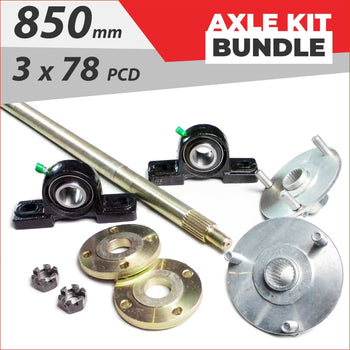 Axle running gear Bundle pack #7 - Helmetkarts