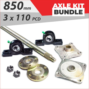 Axle running gear Bundle pack #8 - Helmetkarts