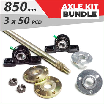 Axle running gear Bundle pack #9 - Helmetkarts