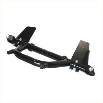 Basic front rigid chassis (foot controls) Front frame Chassis