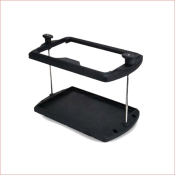 Battery hold down tray - Helmetkarts
