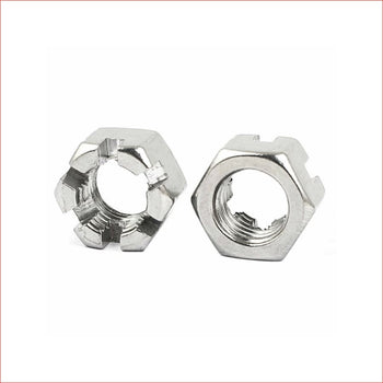 Castle crown nut (various sizes) - Helmetkarts