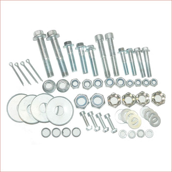 Complete Bolts + Nuts kit - Helmetkarts