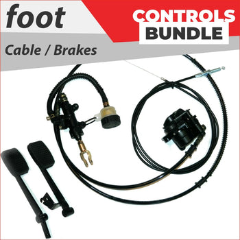 Foot controls - Bundle pack #1 - Helmetkarts